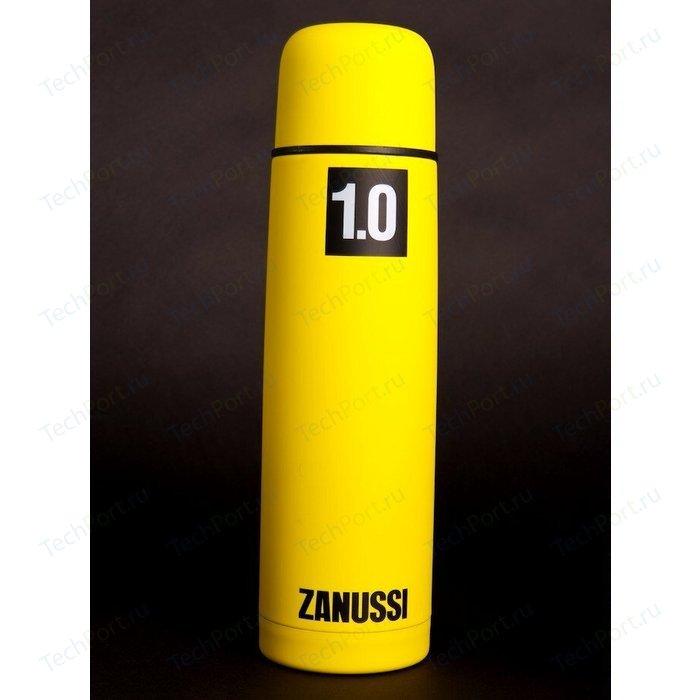 Термос желтый 1.0 л Zanussi Cervinia (ZVF51221CF) классический термос zanussi cervinia 1 л черный