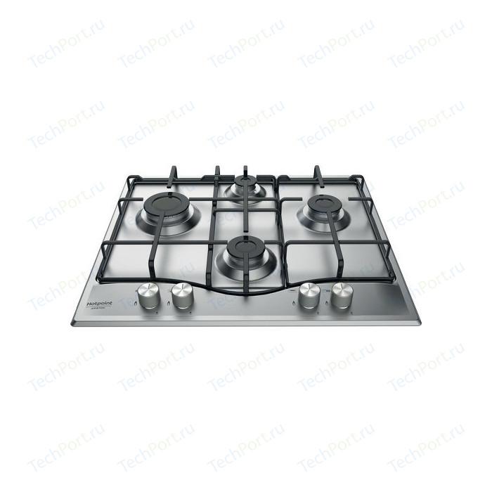 Газовая варочная панель Hotpoint-Ariston PCN 642 IX/HA RU варочная панель газовая hotpoint ariston dd 642 sl ru