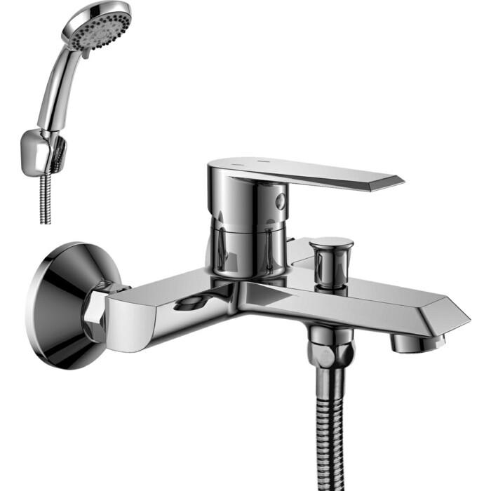 Смеситель для ванны Rossinka RS28 с монолитным изливом (RS28-31)