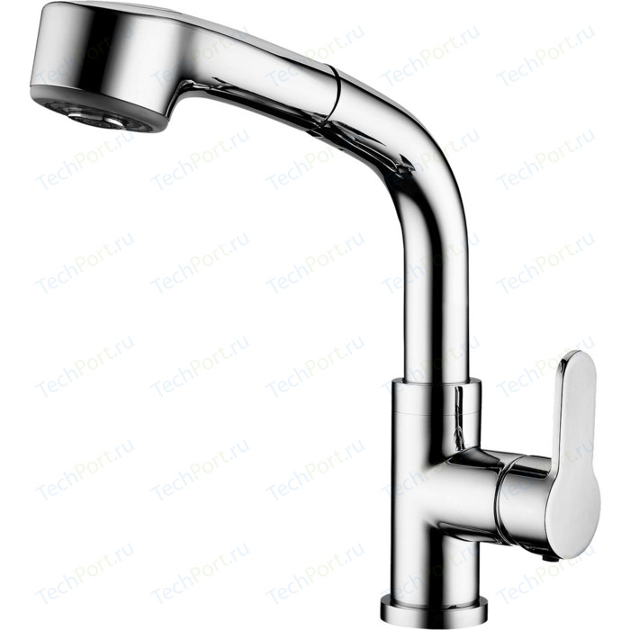 Смеситель для кухни Elghansa Dynamic с душем, хром (5652438)