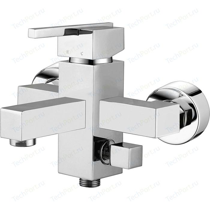 Смеситель для ванны Elghansa Kubus хром (23A9741)