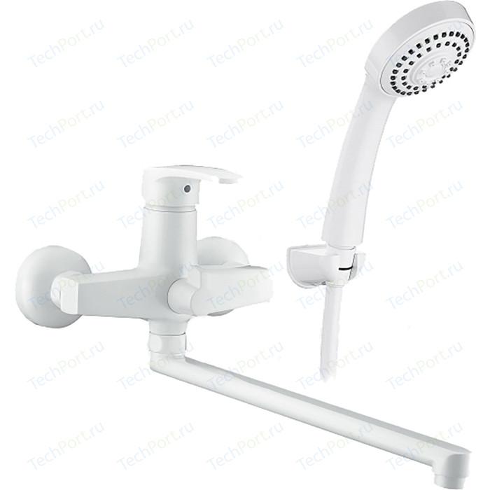 Смеситель для ванны Elghansa Monica White с душем, белый (5322319-WHITE)