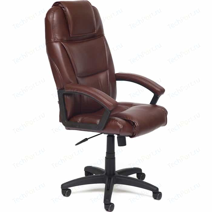Кресло TetChair BERGAMO кож/зам коричневый 2 TONE