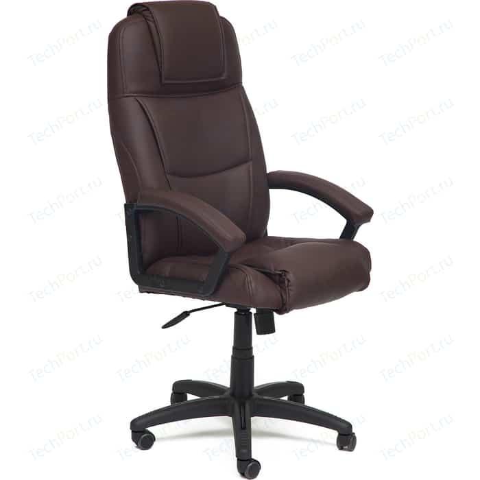 Кресло TetChair BERGAMO кож/зам коричневый 36-36