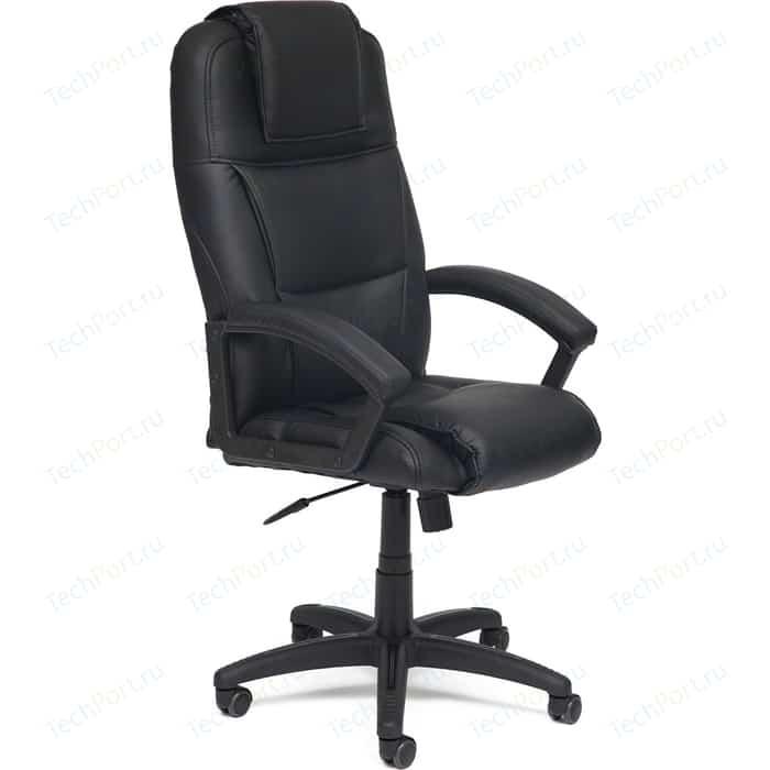 Кресло TetChair BERGAMO кож/зам черный 36-6