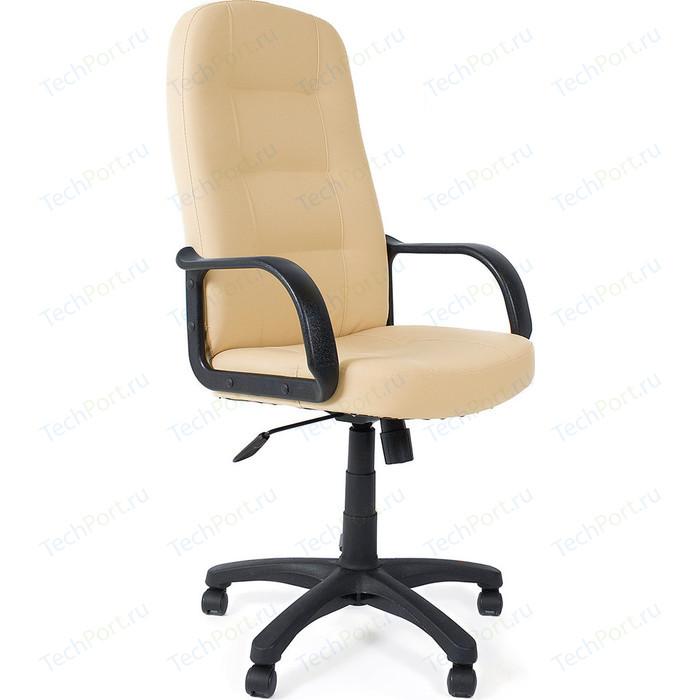 Кресло TetChair DEVON кож/зам бежевый 36-34