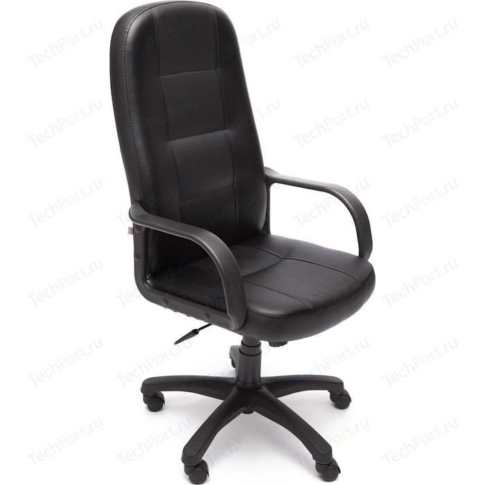 Кресло TetChair DEVON кож/зам черный/черный перфорированный 36-6/36-6/06