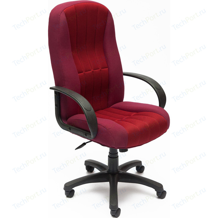 Кресло TetChair СН833 ткань/сетка бордо/бордо 2604/13