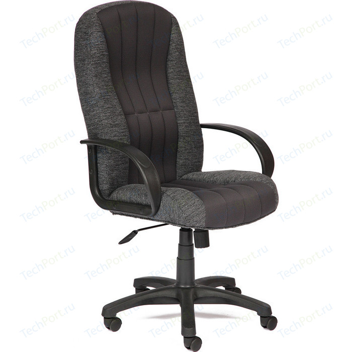 Кресло TetChair СН833 ткань/сетка серая/серая 207/12