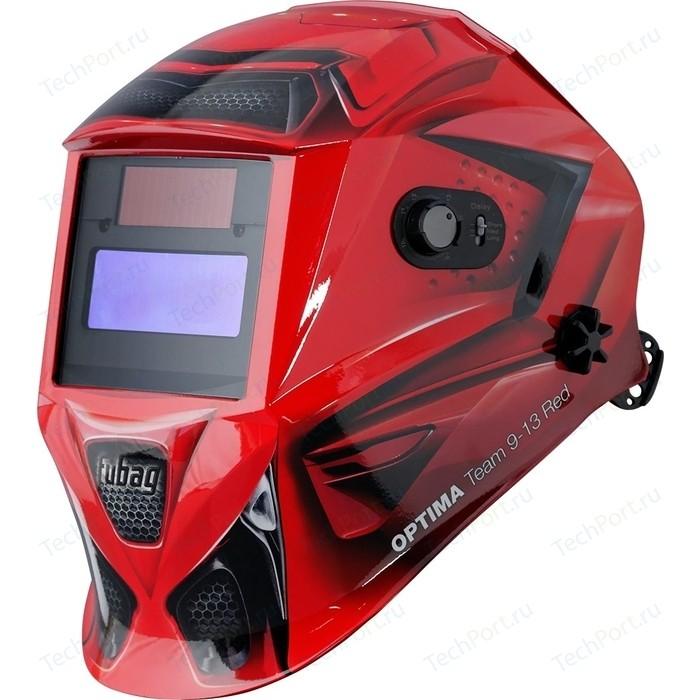 Сварочная маска Fubag Optima 9-13 Team Red