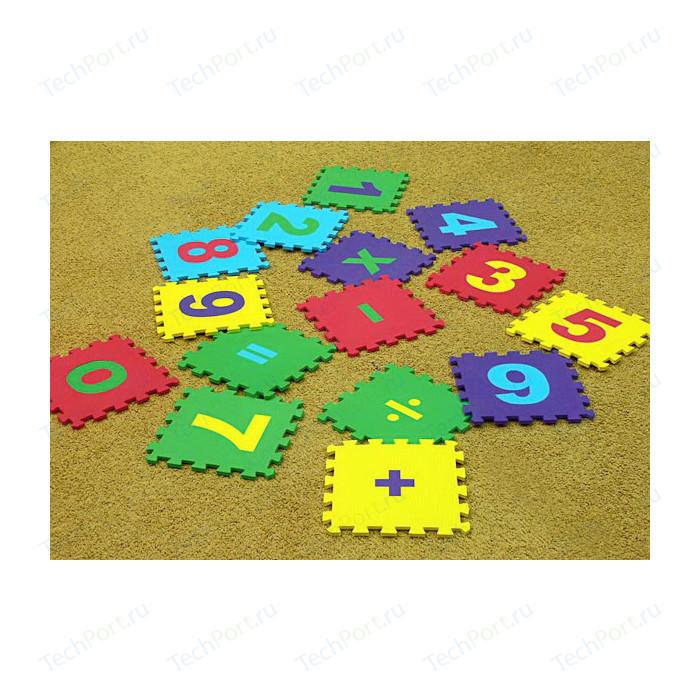Мягкий пол Eco-cover развивающий Математика 25х25 см 15 деталей УТ000000446