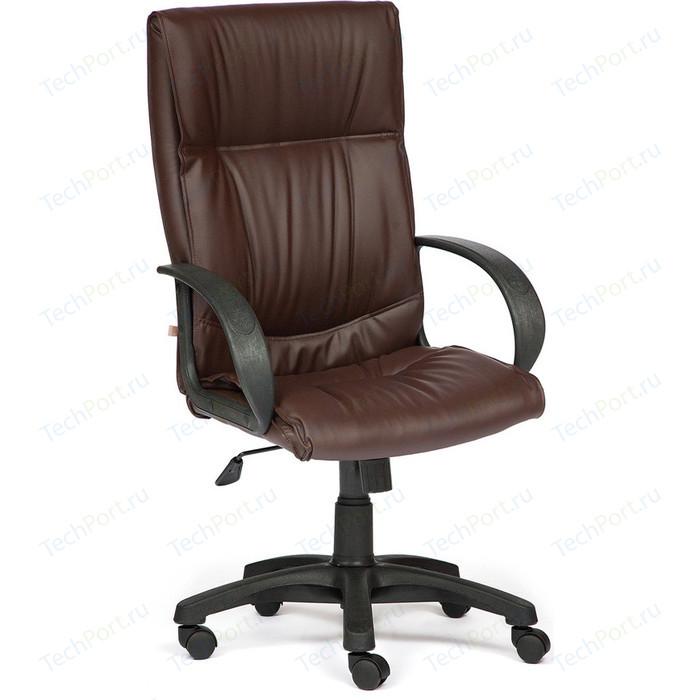 Кресло TetChair DAVOS кож/зам, коричневый, 36-36