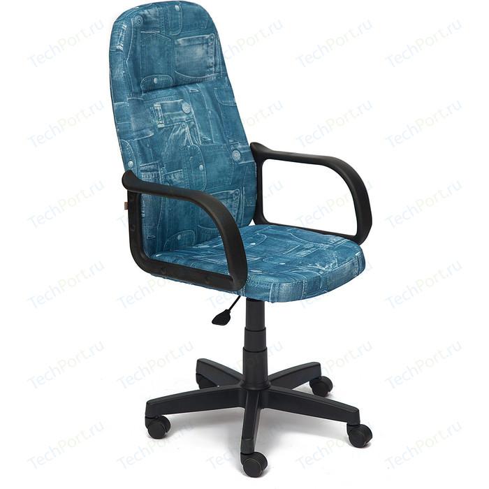 Кресло TetChair LEADER ткань, джинса