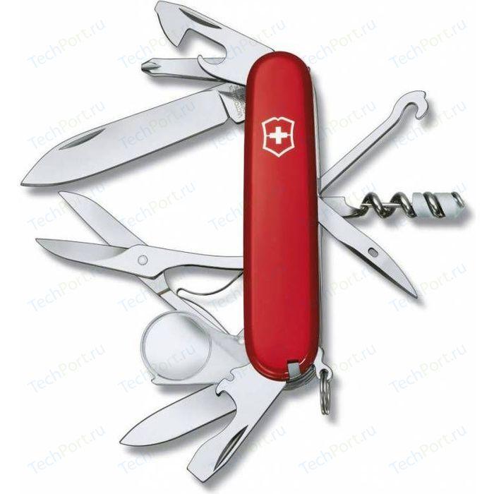 Нож перочинный Victorinox Explorer 1.6703 (91мм, 16 функций, красный) нож перочинный cybertool 41 91мм 39 функций полупрозрачный красный