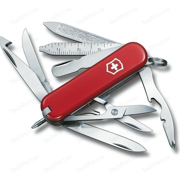 Нож перочинный Victorinox MiniChamp 0.6385 (58мм 16 функций, красный)