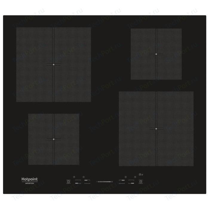 Индукционная варочная панель Hotpoint-Ariston KIS 640 C индукционная варочная панель hotpoint ariston ikid 641 b f