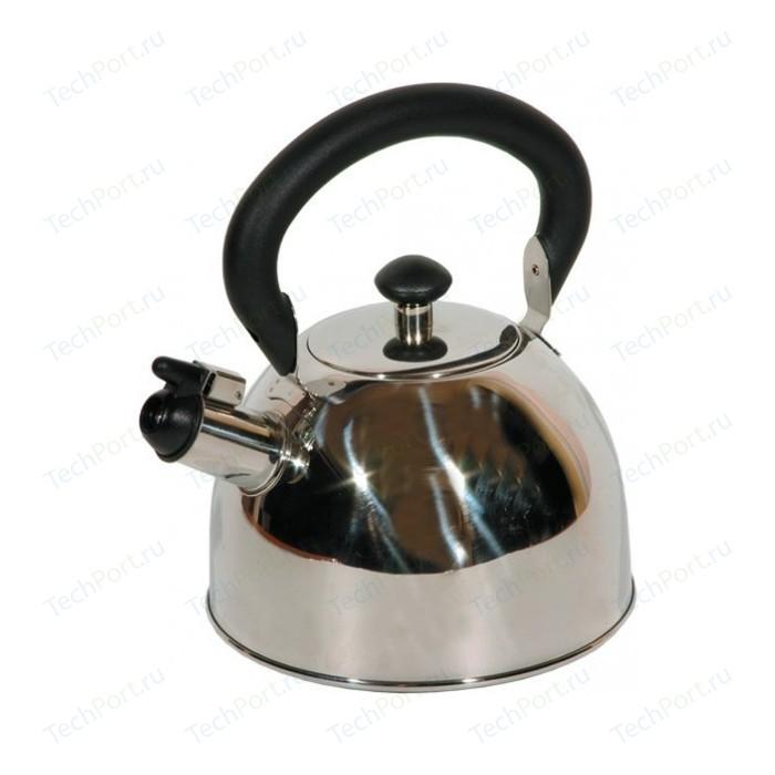 Фото - Чайник со свистком 2 л Regent Regen (93-2003) чайник 2 6 л со свистком regent tea 93 tea 28