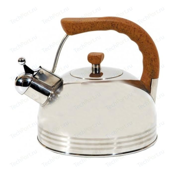 Фото - Чайник со свистком 3.8 л Regent Люкс (93-2503B.2) чайник 2 6 л со свистком regent tea 93 tea 28
