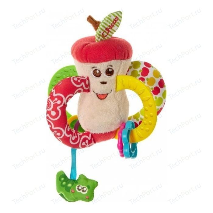 Игрушка-погремушка Chicco Вкусное яблочко 7652 игрушка погремушка chicco жираф