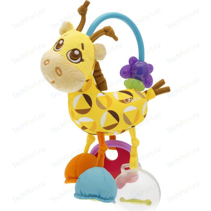 Игрушка-погремушка Chicco Жираф пирамидка жираф b kids