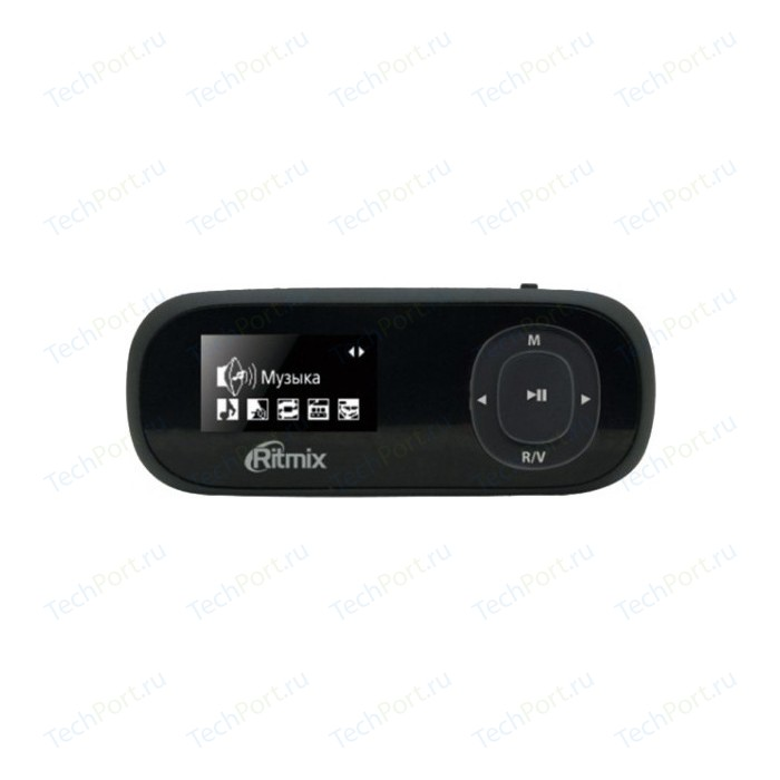 MP3 плеер Ritmix RF-3410 4Gb black