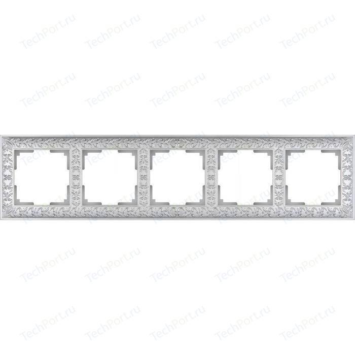 Рамка Werkel Antik жемчужный WL07-Frame-05 рамка werkel antik жемчужный wl07 frame 04
