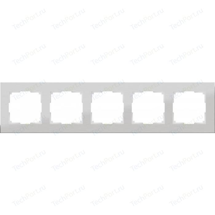 Рамка Werkel Aluminium алюминий WL11-Frame-05