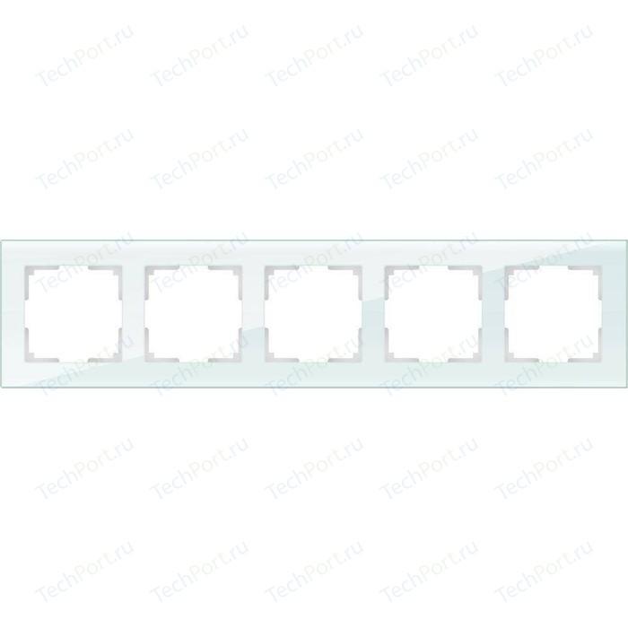 Рамка Werkel Favorit натуральное стекло WL01-Frame-05