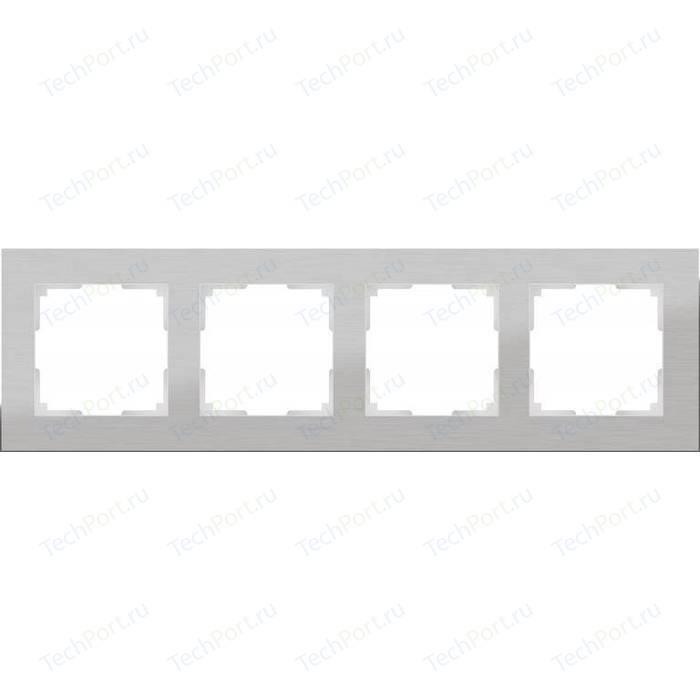 Рамка Werkel Aluminium алюминий WL11-Frame-04