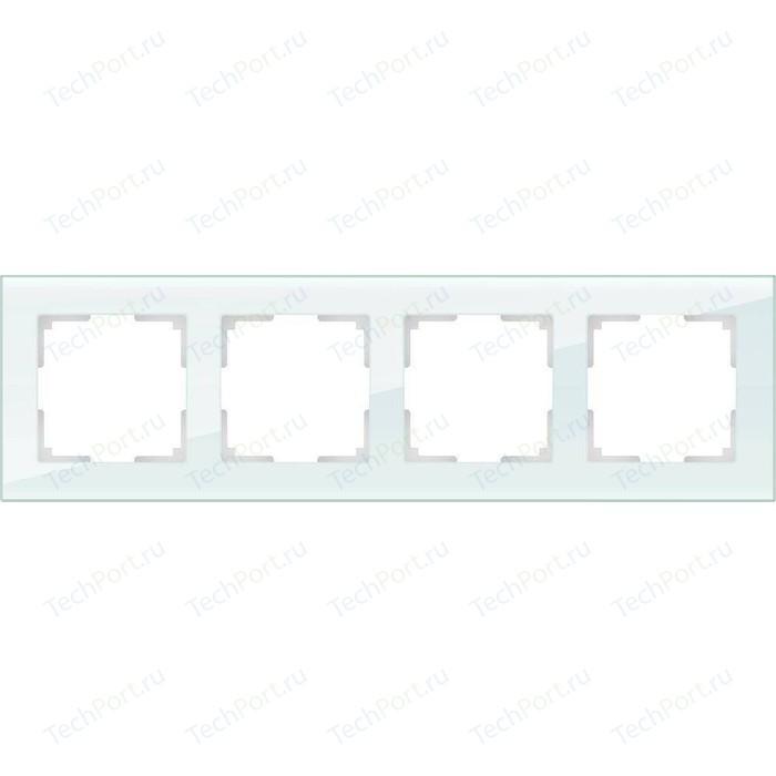 Рамка Werkel Favorit натуральное стекло WL01-Frame-04