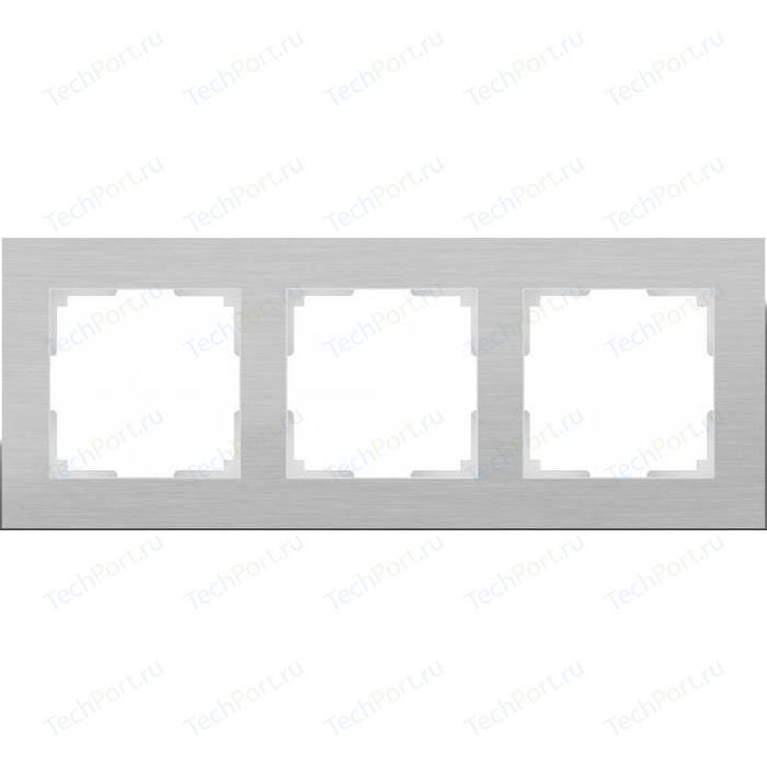 Рамка Werkel Aluminium алюминий WL11-Frame-03