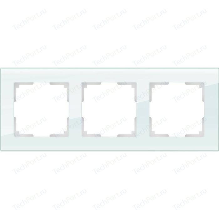 Рамка Werkel Favorit натуральное стекло WL01-Frame-03