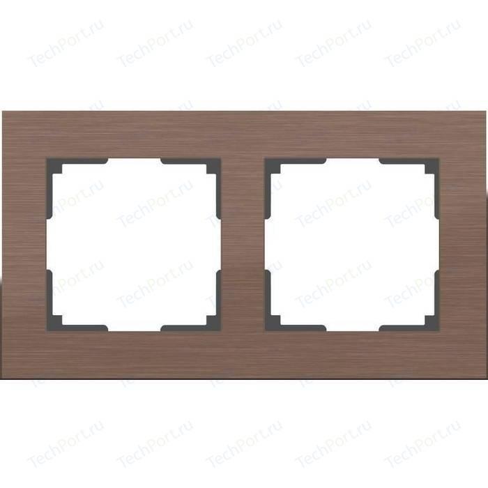 Рамка Werkel Aluminium алюминий коричневый WL11-Frame-02