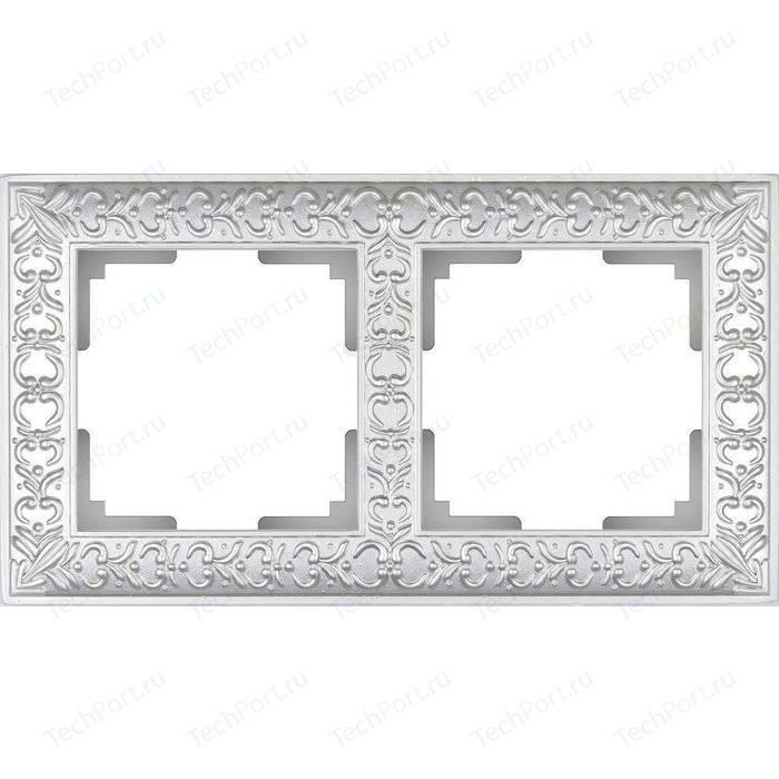 Рамка Werkel Antik жемчужный WL07-Frame-02 рамка werkel antik жемчужный wl07 frame 04