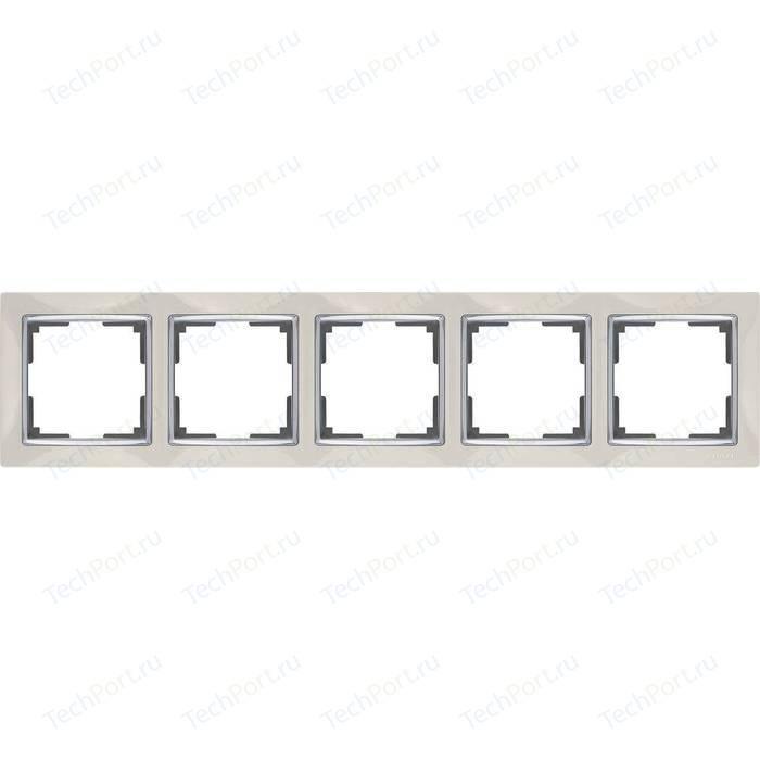Рамка Werkel Snabb слоновая кость WL03-Frame-05-ivory