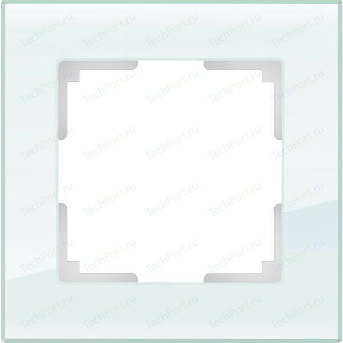 Рамка Werkel Favorit натуральное стекло WL01-Frame-01