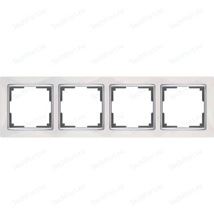 Рамка Werkel Snabb белая WL03-Frame-04-white
