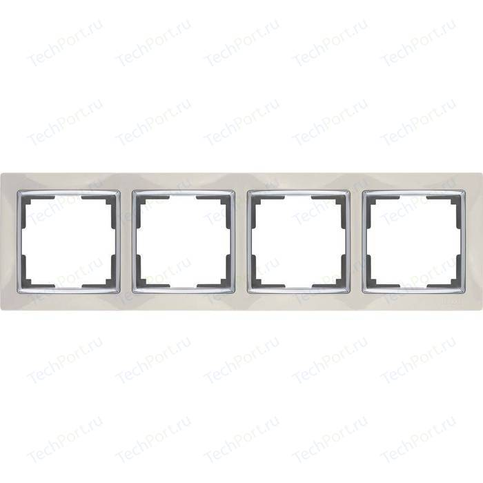 Рамка Werkel Snabb слоновая кость WL03-Frame-04-ivory