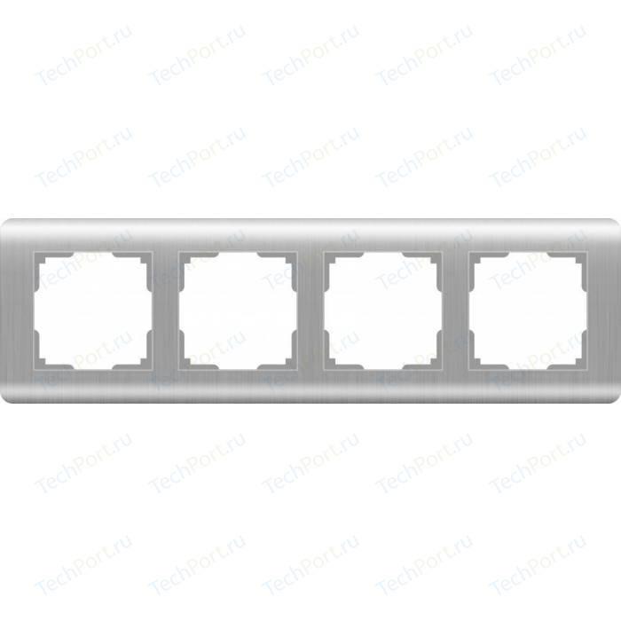 Рамка Werkel Stream серебряный WL12-Frame-04