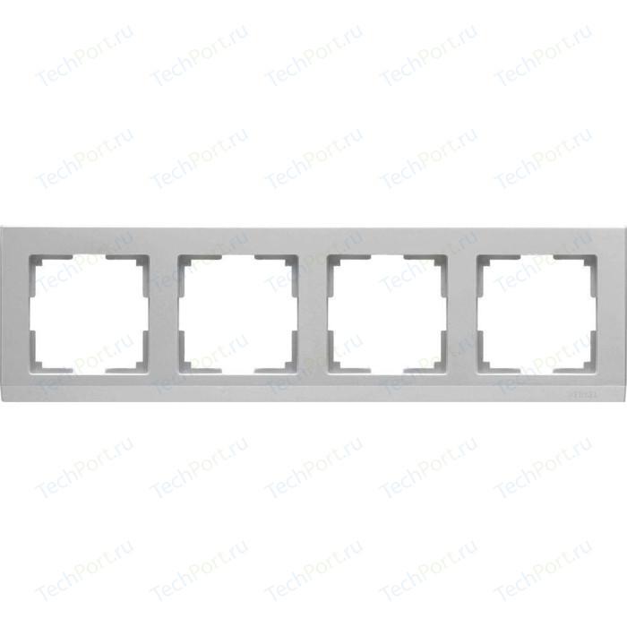 Рамка Werkel Stark серебряный WL04-Frame-04
