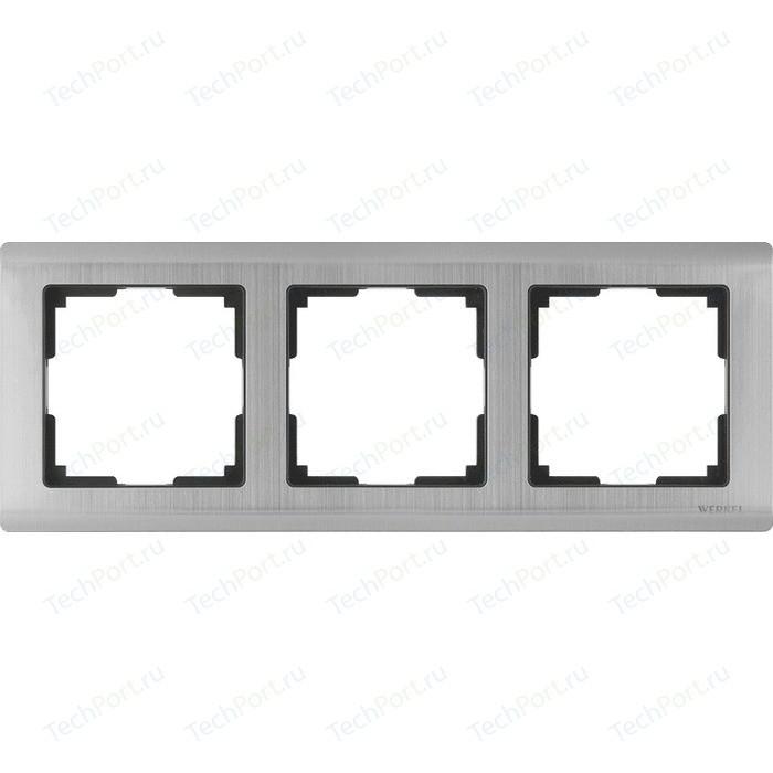 Рамка Werkel Metallic глянцевый никель WL02-Frame-03
