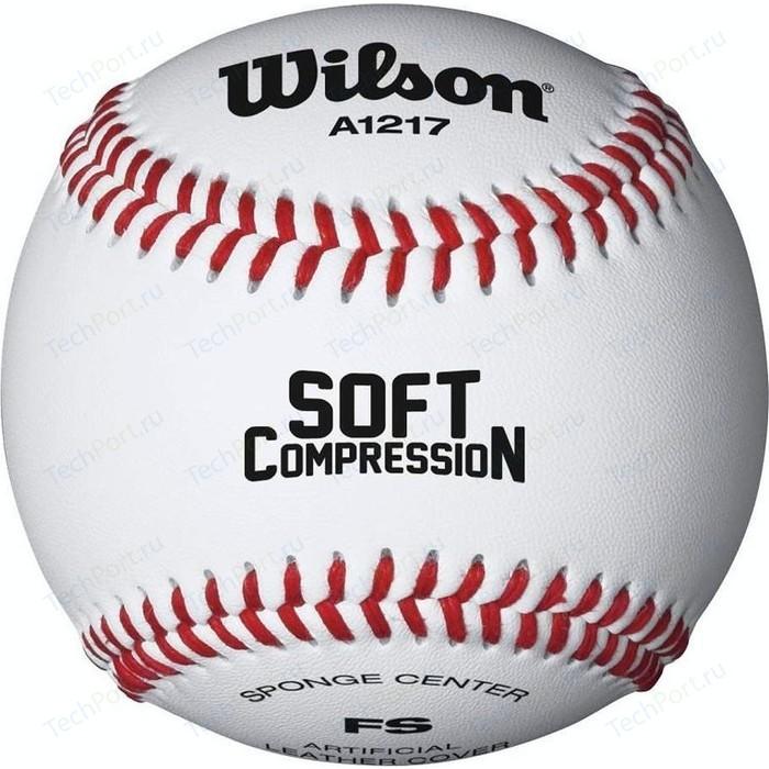 Мяч для бейсбола Wilson Soft Compression WTA1217B