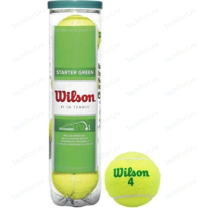 Мяч для большого тенниса Wilson Starter Green Play WRT137400