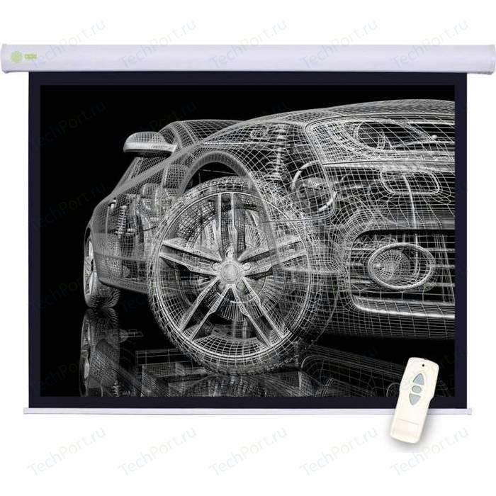 Фото - Экран для проектора Cactus CS-PSM-150x150 1:1 настенно-потолочный (моторизованный привод) экран для проектора sakura 332x186 motoscreen 16 9 настенно потолочный моторизованный 150