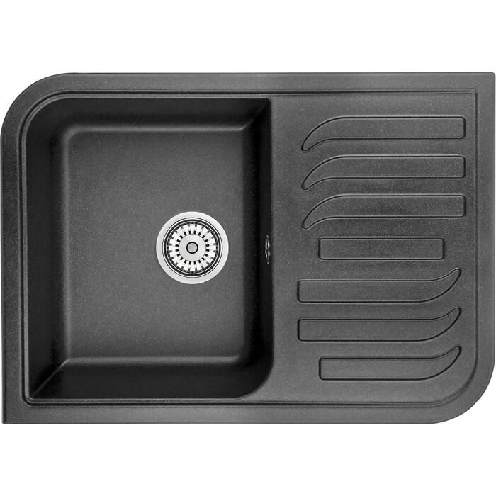 Кухонная мойка Granula GR-7001 черный