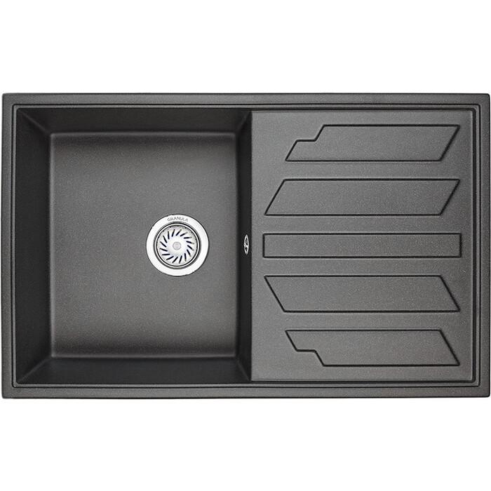 Кухонная мойка Granula GR-8002 черный