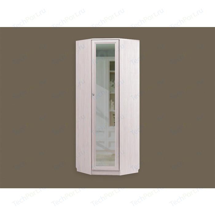 Шкаф угловой СКАНД-МЕБЕЛЬ Баунти левый Б-14 с зеркалом