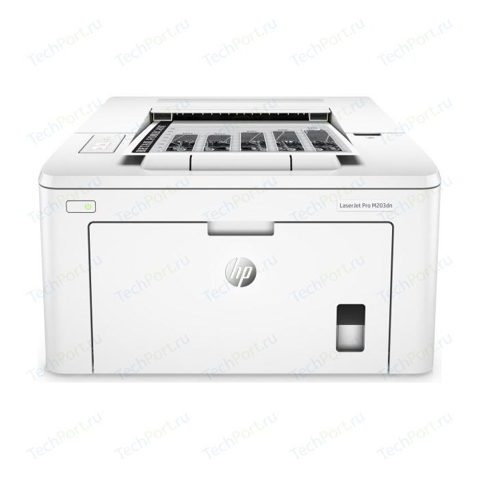 Фото - Принтер HP LaserJet Pro M203dn (G3Q46A) принтер hp laserjet pro m203dw g3q47a