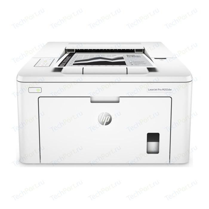 Фото - Принтер HP LaserJet Pro M203dw (G3Q47A) принтер hp laserjet pro m203dw g3q47a
