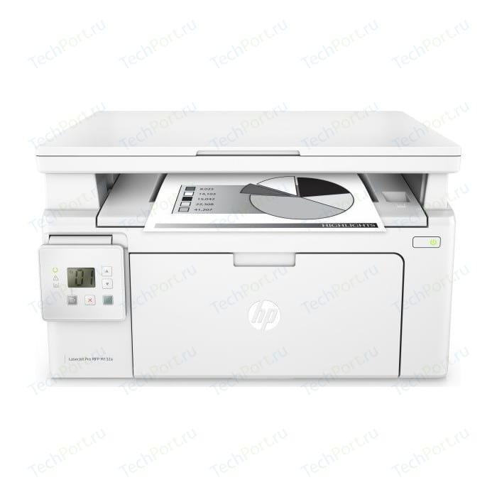 Фото - МФУ HP LaserJet Pro MFP M132a (G3Q61A) мфу hp color laserjet enterprise 800 mfp m880z a2w75a цветной a3 46ppm факс дуплекс hdd 320гб ethernet usb